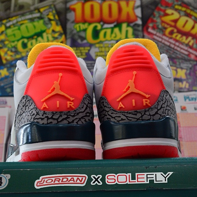 Sole Fly x Air Jordan 3 Teaser