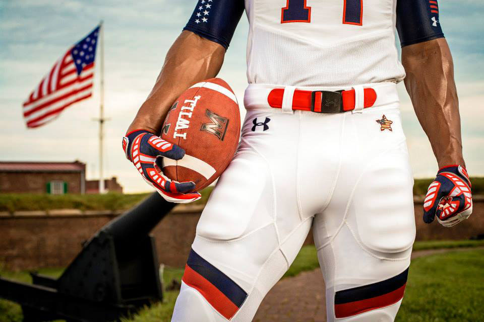 Maryland's Under Armour 'Star-Spangled Banner' Uniforms (7)