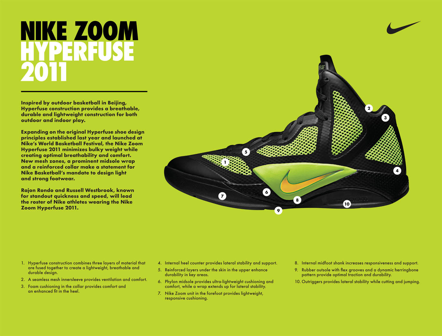 6dfa1fdc0f0 Nike Officially Introduces the Zoom Hyperfuse 2011