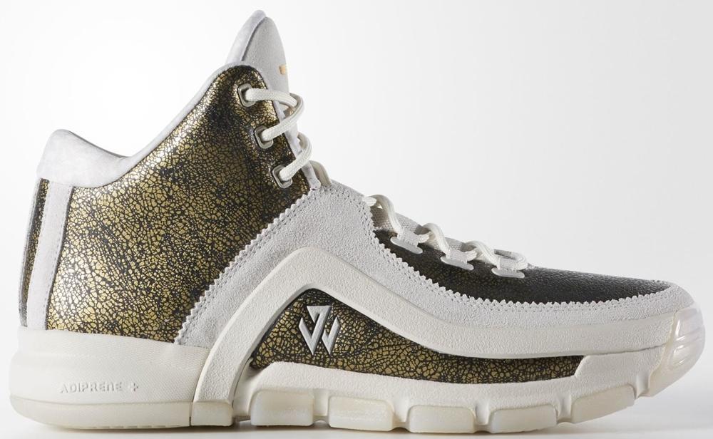 adidas J Wall 2 Core Black/Gold Metallic-Off White
