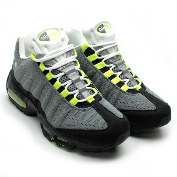 Nike Air Max 95 Premium EM - Cool Grey / Volt / Black | Solecollector