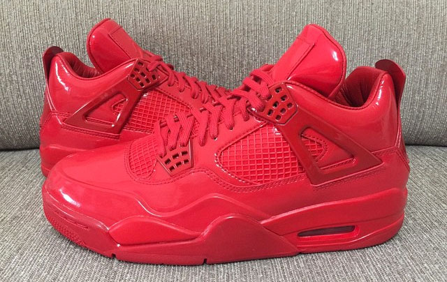 Air Jordan 11Lab4 Red 719864-600 (15)