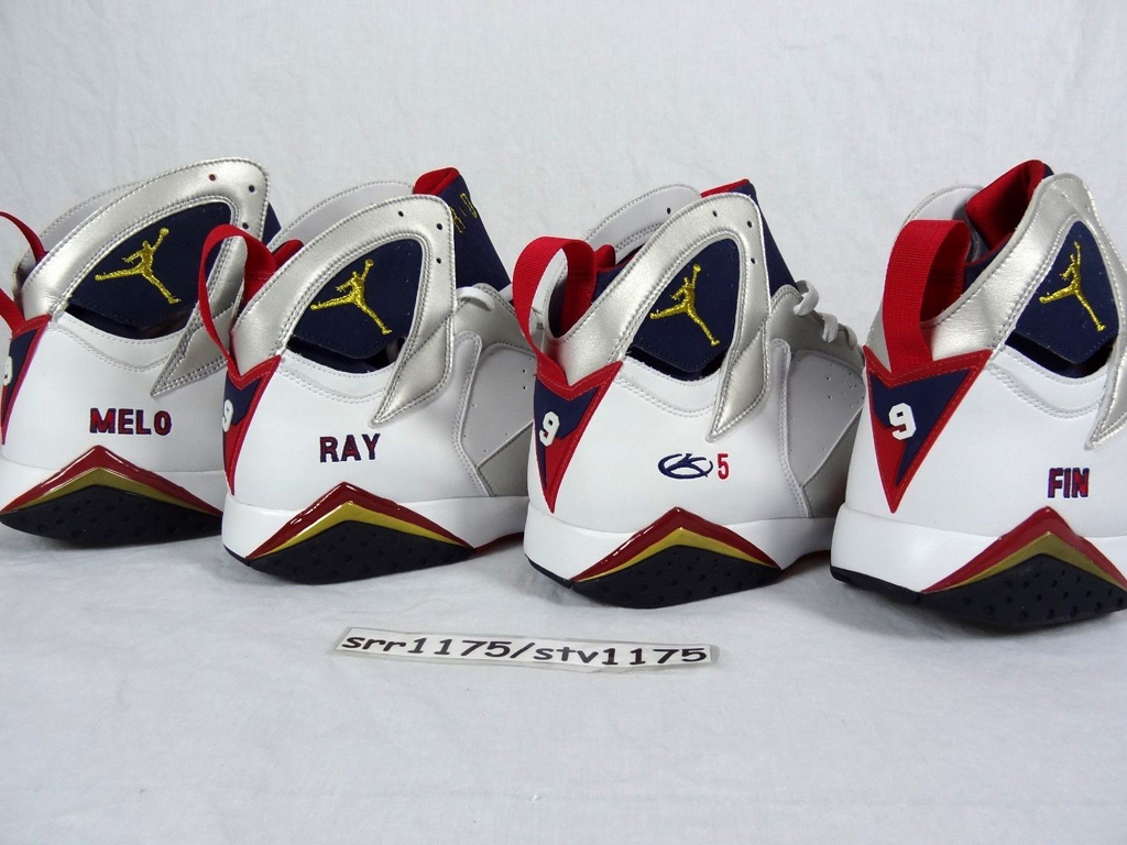 b4493d051fc3aa A 2004 Player Exclusive set of  Olympic  Air Jordan 7 Retros can be yours
