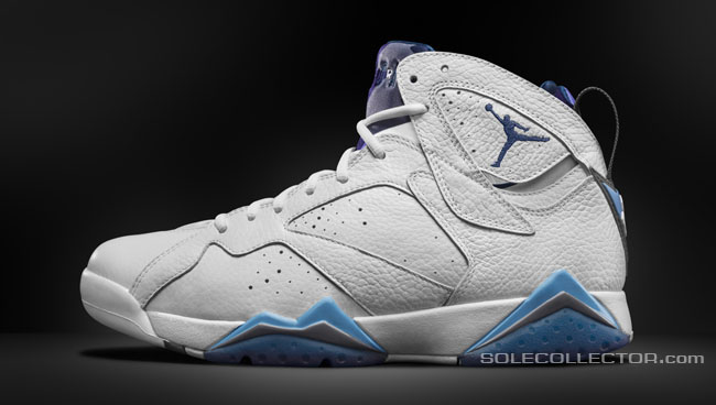 a7f304884a3f37 Check out detailed shots of the remastered French Blue Air Jordan 7.