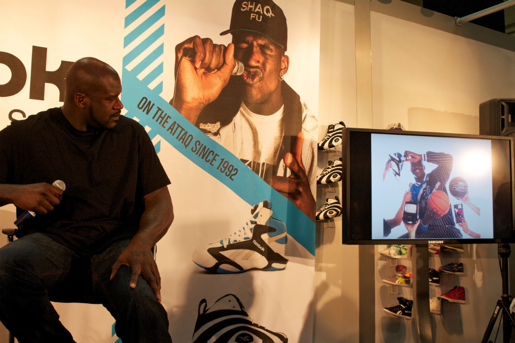 Shaq, Swizz Beatz & Tyga For Reebok Classics At Project (2)