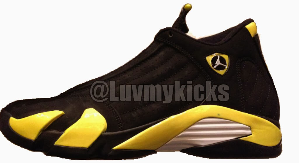 reputable site f6f19 ab7b1 Release Date: Air Jordan 14 Retro 'Thunder' | Sole Collector