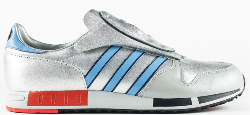 adidas Originals Micropacer OG Metallic Silver/Light Red