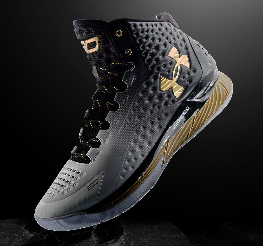 b25e40cf4899 Here s Steph Curry s First Under Armour MVP Sneaker