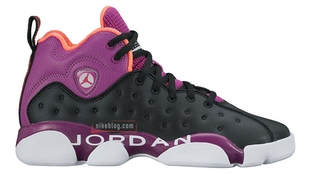 Air Jordan Jumpman Team 2 Black/Fuchsia