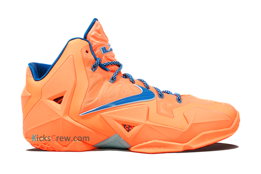 fdaefed2360f Stay tuned to Sole Collector for further details on the Atomic Orange Green  Abyss Nike LeBron XI.