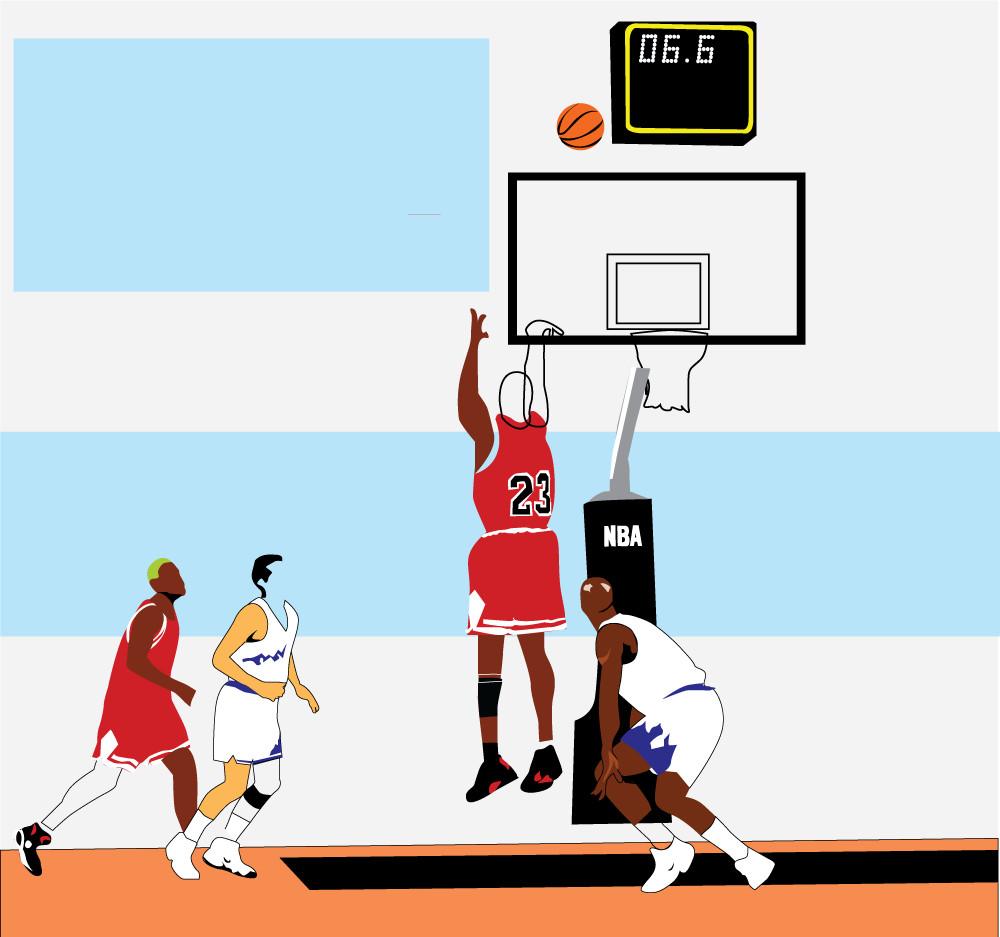 jakość największa zniżka różnie An Illustrated Look at Some of Michael Jordan's Most Iconic ...
