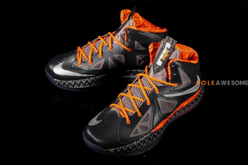 Nike LeBron X GS - Black History Month  44290fd0cc