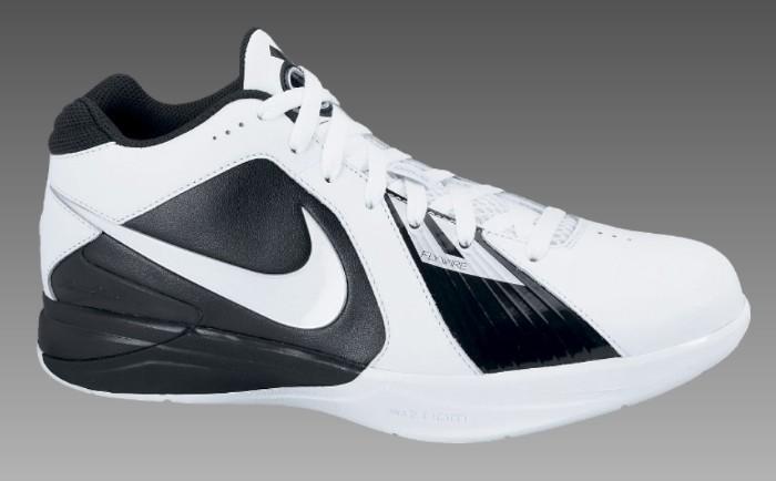 0a8728d89c68 Nike Zoom KD III TB White Black Metallic Silver 417279-101 ...