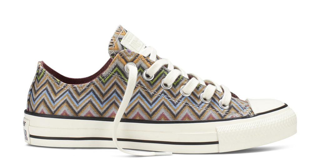 a2cacce48dc4 The Missoni x Converse Chuck Taylor All Star Collection hits converse.com  as well as select Converse retailers such as Nordstrom on Thursday