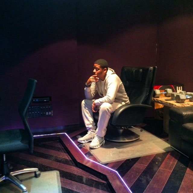Vado wearing Air Jordan 9 Cool Grey