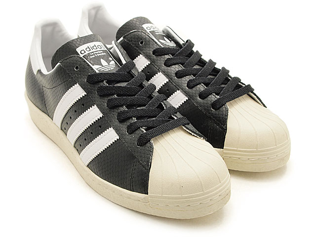 Best of 2011: adidas - Superstar 80s x atmos Black Snakeskin Glow in the Dark (1)