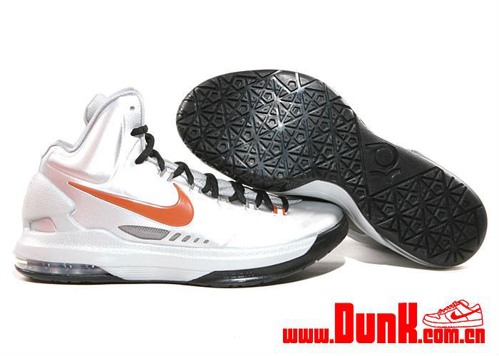 buy online 18152 52024 Nike KD V Metallic Silver Desert Orange Sport Grey Black 554988-002 (2)