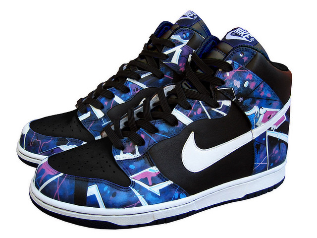 Nike Dunk High 'Galaxy by Sekure D