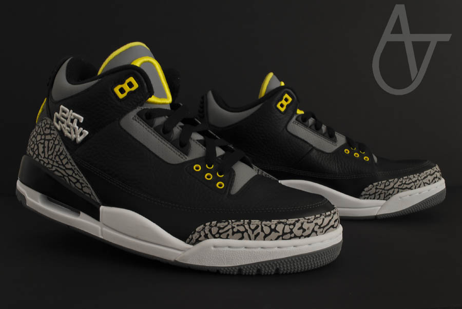 Air Jordan Retro 3 - Oregon Ducks Pit Crew Away (5)