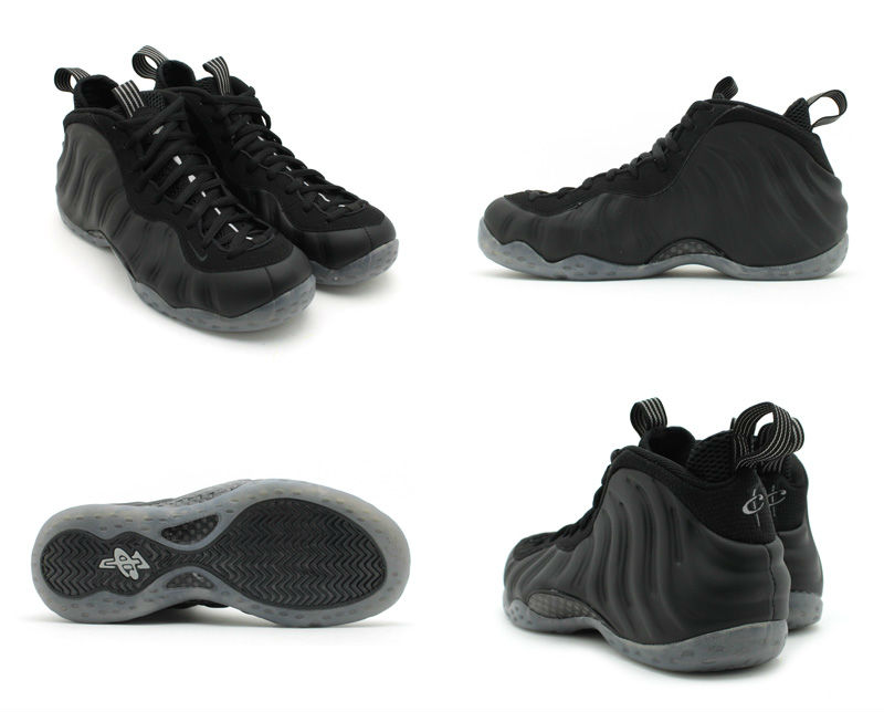 Nike Air Foamposite One Black Suede 3yG8y Price: $ 72.00 ...