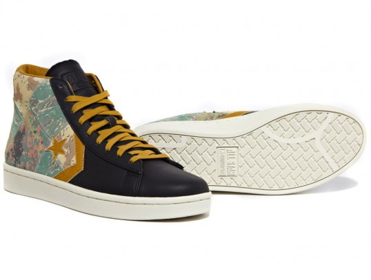 Stussy NYC x Converse First String Pro Leather