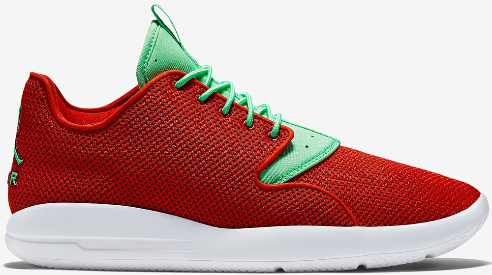 Jordan Eclipse University Red/Sport Red-White-Light Green Poison