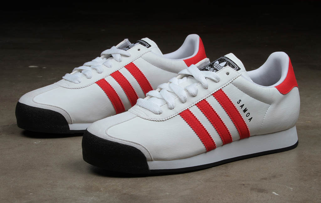 fc7765d3b7b7 Buy adidas samoa red white and black   OFF64% Discounted