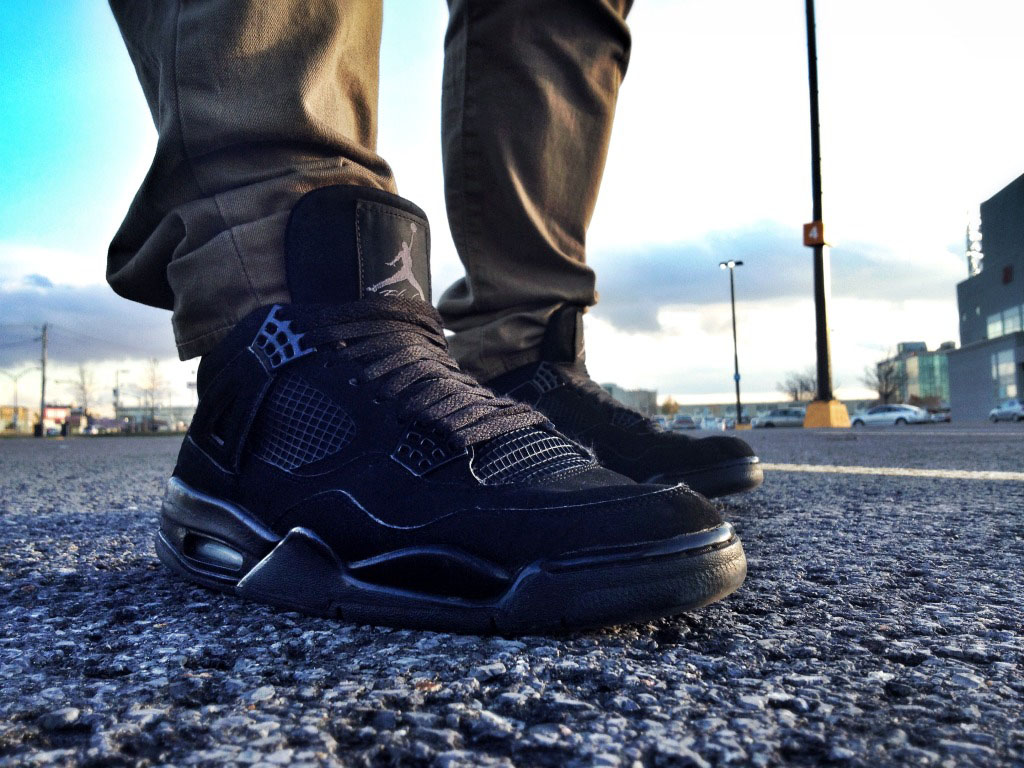 Spotlight // Forum Staff Weekly WDYWT? - 11.4.13 - Air Jordan 4 Retro Black Cat by Shooter