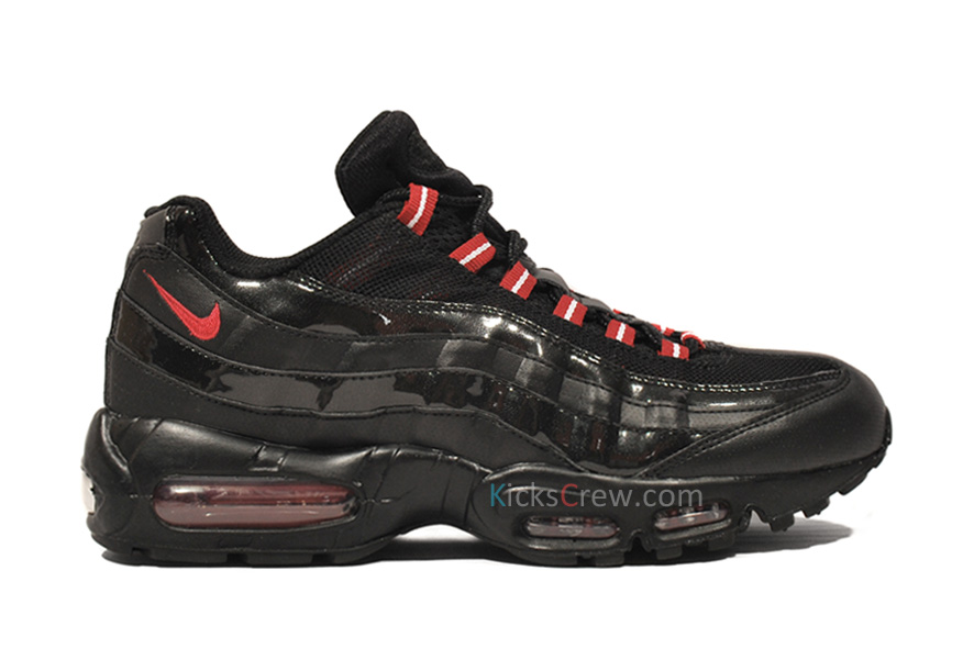 44eb0fb0920cc3 Nike Air Max 95 Black Varsity Red 609048-037