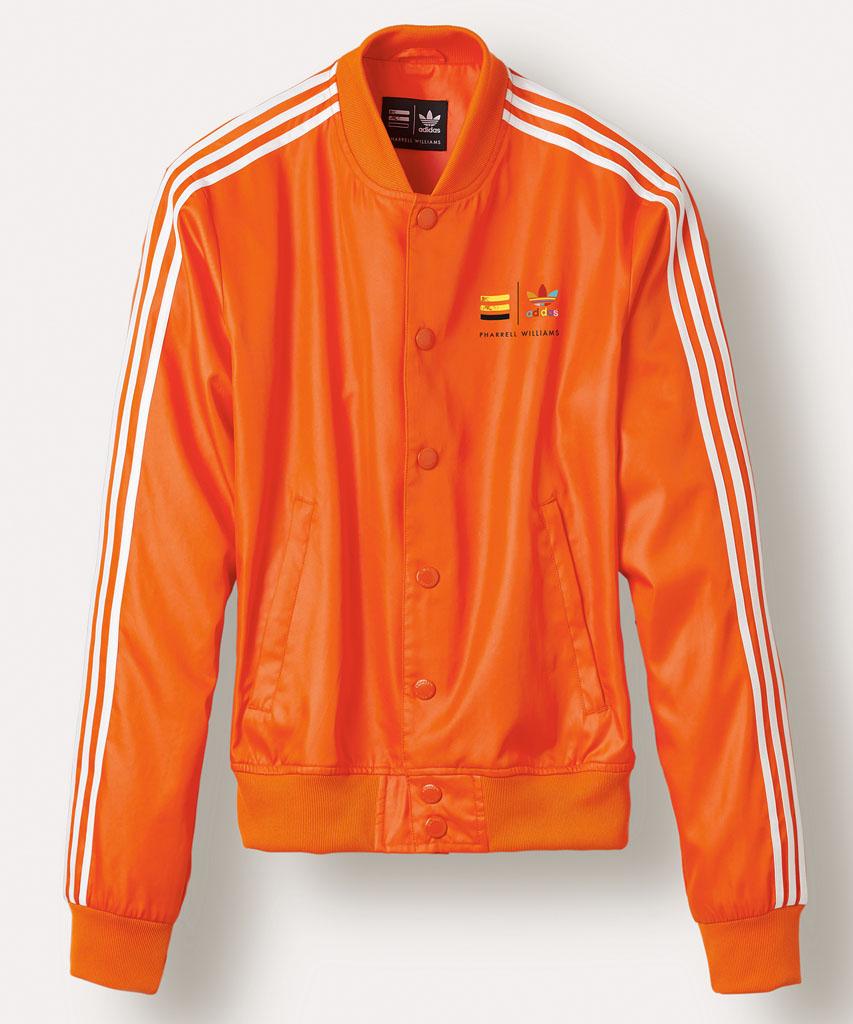 Adidas originals jacke orange