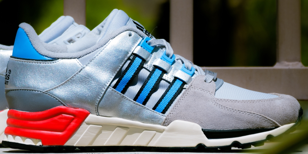 adidas Originals EQT Running Support '93 Silver/Blue-Red