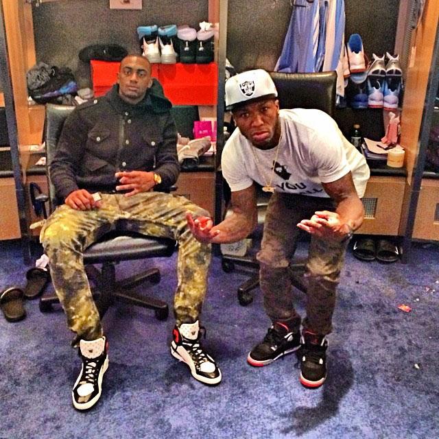 1ef3a1b8273 Nate Robinson wearing Air Jordan 4 Retro Black Cement