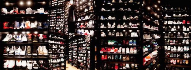 His Display Room Features Shelves That Are 10 Layers High When You Walk In There Its Like Youre Walking Into Foot Locker He Said