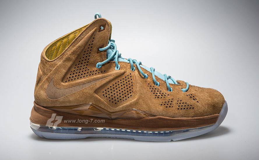 Nike LeBron X EXT Brown Suede 607078-200 (1)