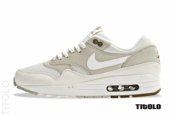 brand new fe547 aec73 ... Light Bone Summit White. Another clean colorway for the Air Max 1 is on  it s way from Nike Sportswear, providing us with the perfect look for the  ...