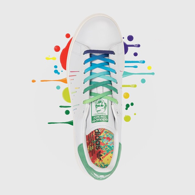 new products bf14a 07e85 adidas Stan Smith LGBT Pride (1)