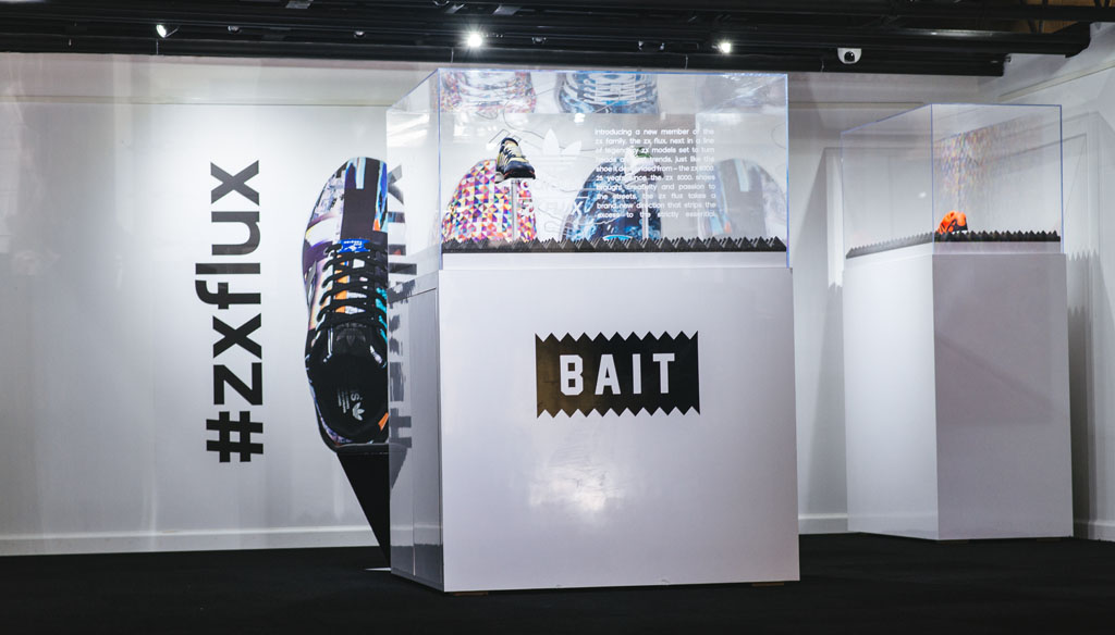 adidas ZX Flux Installation at BAIT (7)