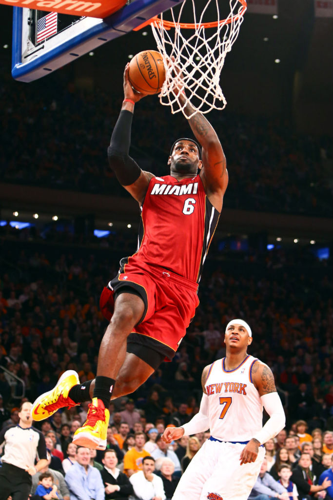 LeBron James wearing Nike LeBron X Carmex (4)