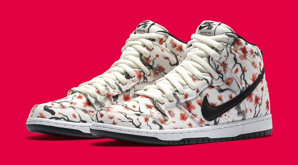 57a8822d05ec Cherry Blossoms Bloom on Nike SB Dunks