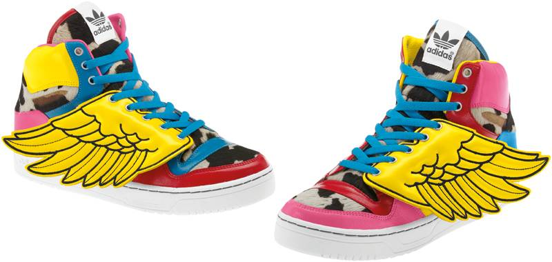 info for c84eb 6c058 adidas Originals by Jeremy Scott for 2NE1 JS Wings V20692