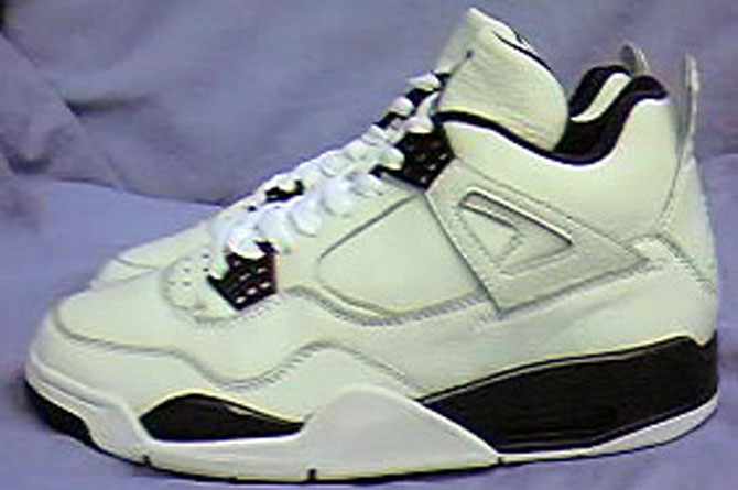 Air Jordan IV 4 Columbia Leather Sample (1999) 5827ad84bc