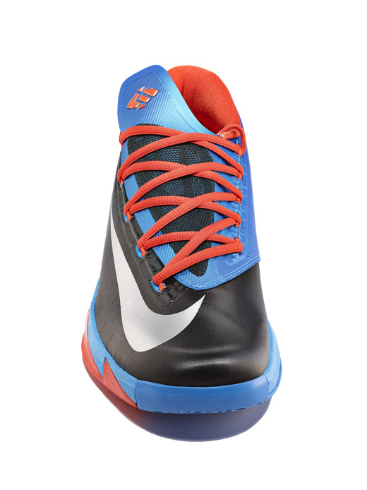 Nike KD 6 VI Thunder Away colorway tongue