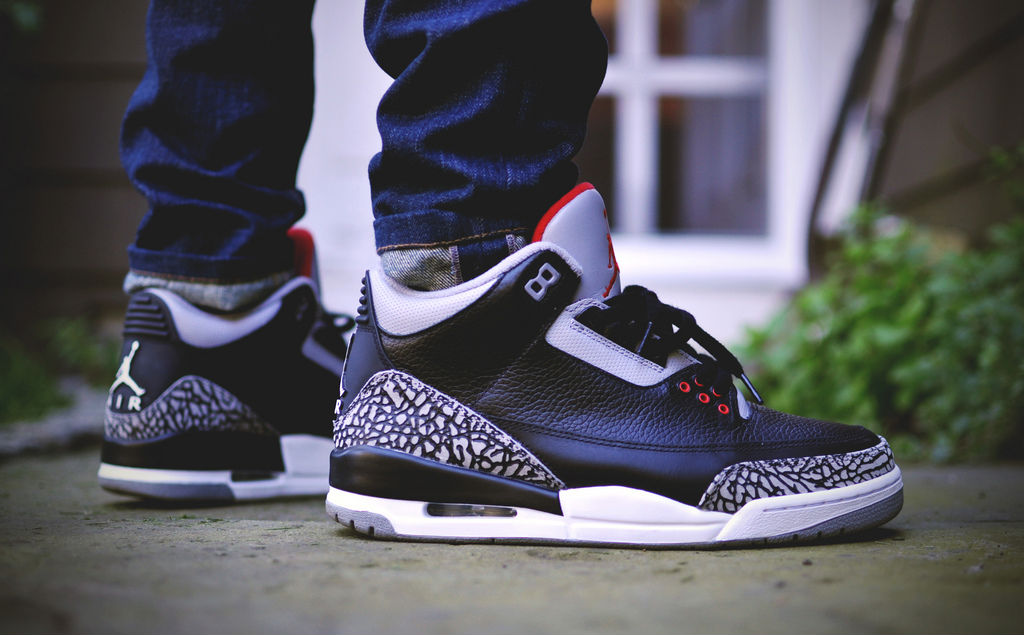 Air Jordan 3 Sur Instagram