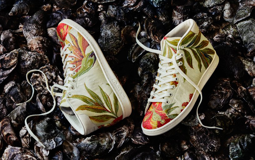 Pharrell Adidas Jacquard Floral Pack 2 Stan Smith Mid
