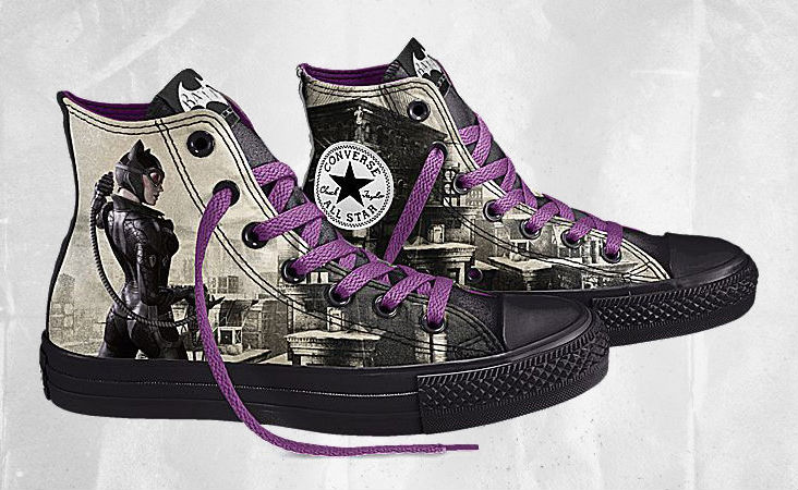 c68a4018c80d Design Your Own DC Comics x Converse Batman Arkham City Chucks ...