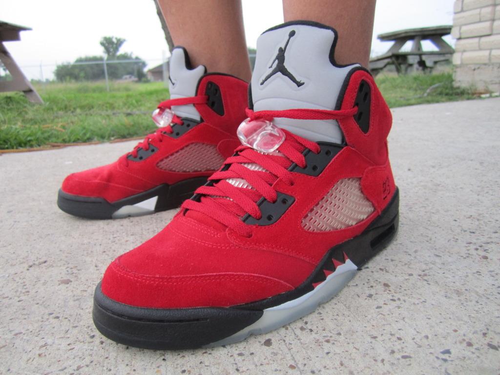 raging bull 5s on feet Sale Jordan Shoes