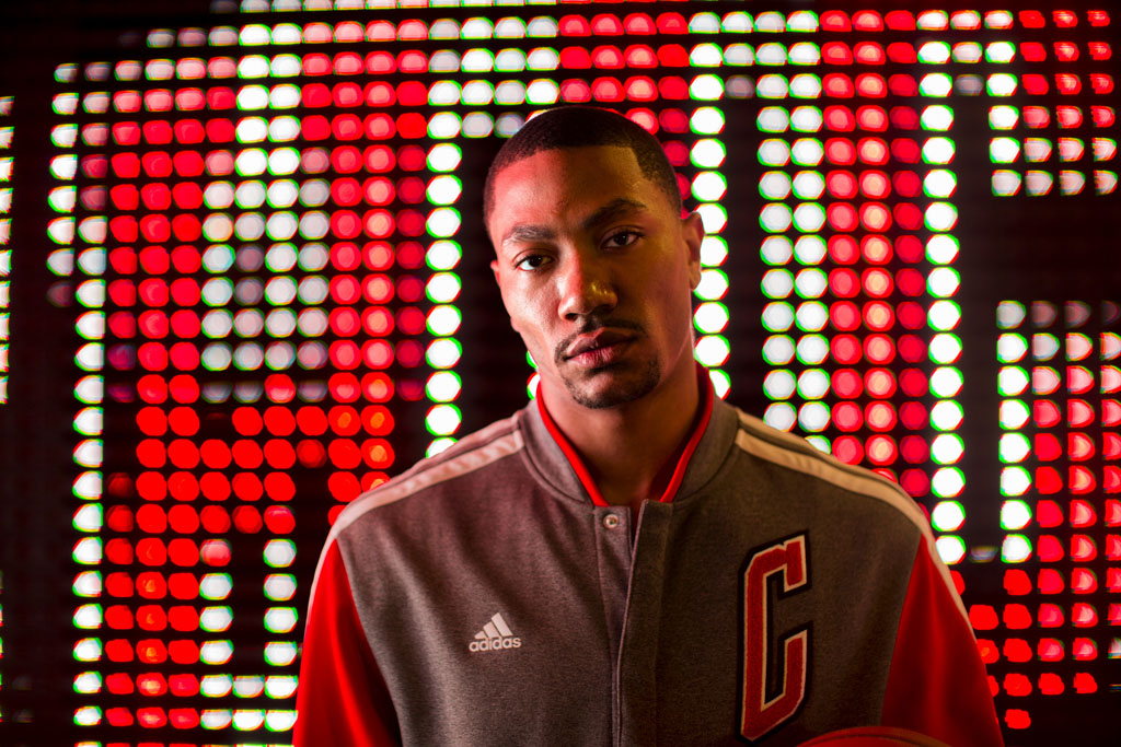 adidas 2013-2014 NBA On-Court Collection // Derrick Rose (1)