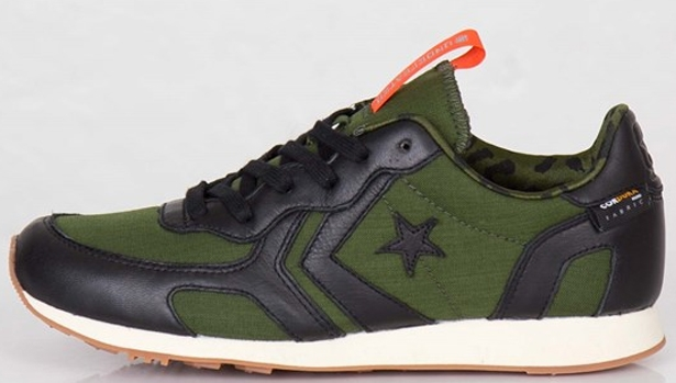 Converse Auckland Racer Ox Black/Rifle Green-Orange
