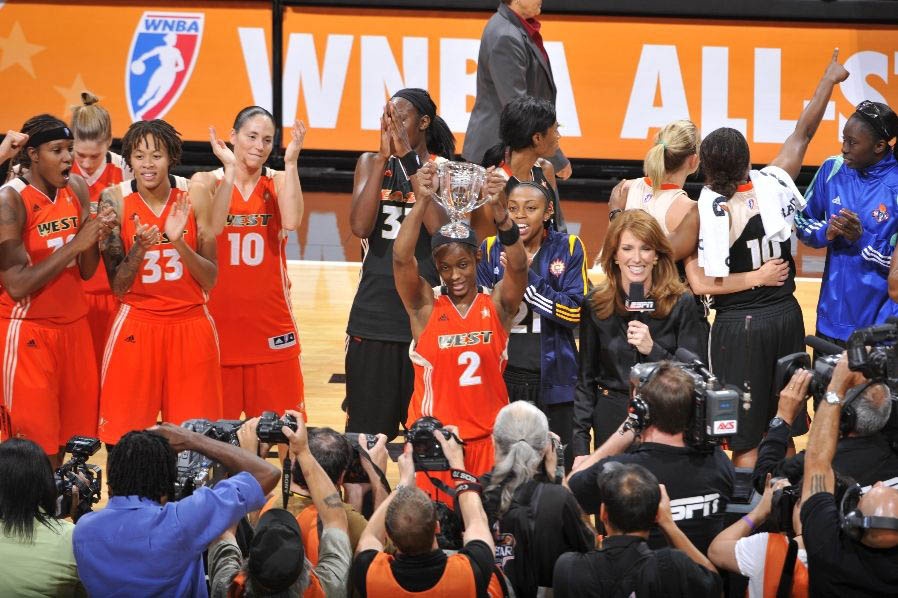 WNBA Sneaker Watch: 2011 WNBA All-Star Game