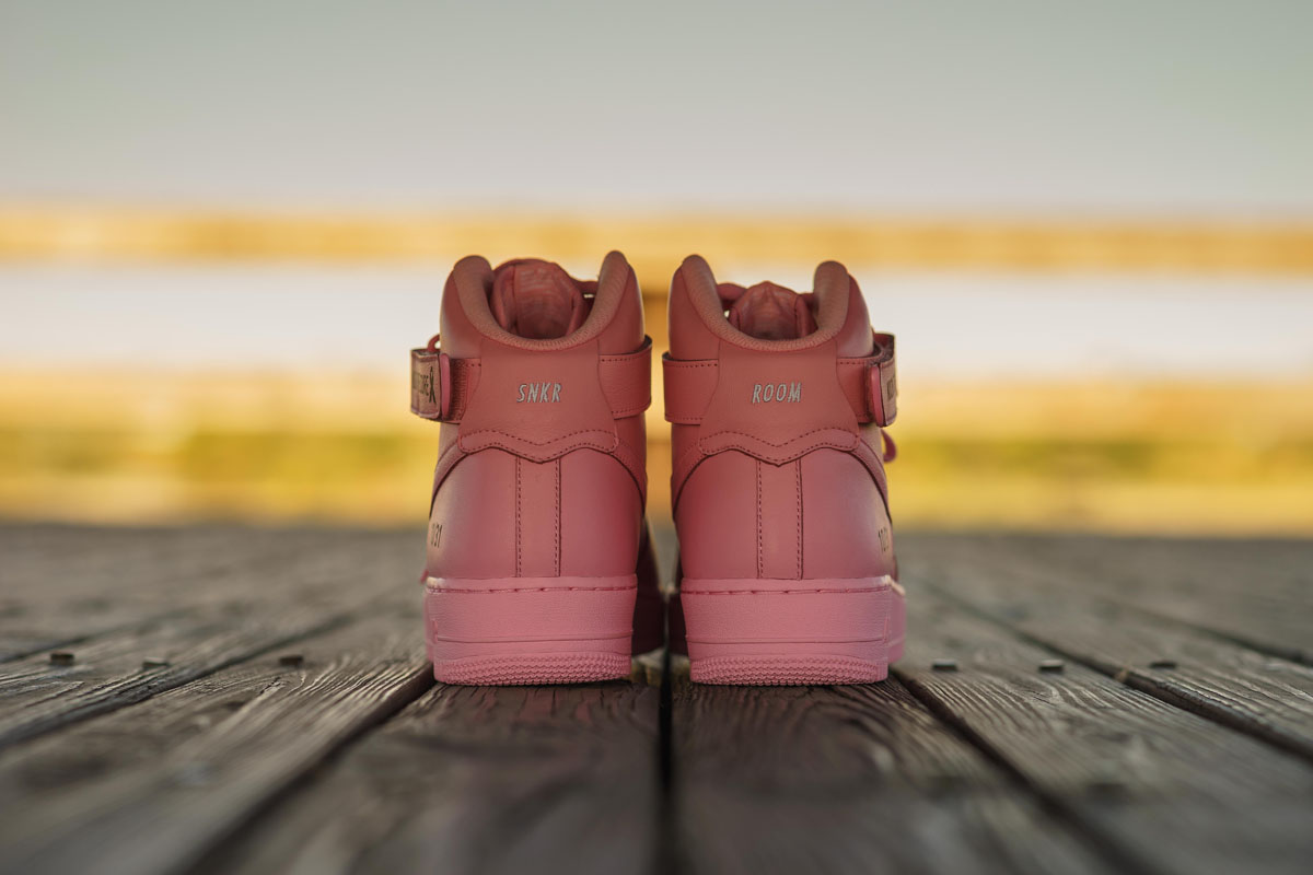 Sneaker Room x Nike Air Force 1 High Pink BCA (10)